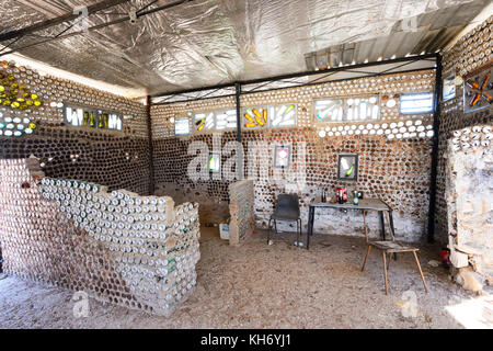 Phenomenal Interior Of The Beer Can House Made Of Old Beer Cans And Interior Design Ideas Philsoteloinfo