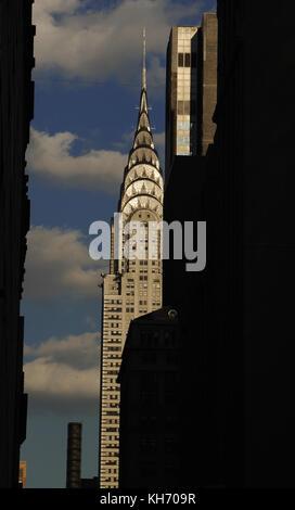 USA. New York. Chrysler Building. Architect, William Van Alen (1883 Ð 1954). Art Deco style. Manhattan. - Stock Photo