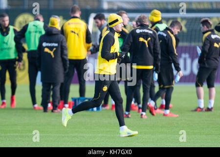 Marco REUS (DO) laeuft, l uft, laufend, Lauftraining,  Fussball 1. Bundesliga, Training, Borussia Dortmund (DO) - Stock Photo