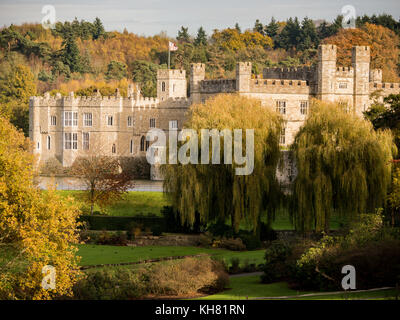 Leeds castle, Maidstone, Kent, UK - Stock Photo