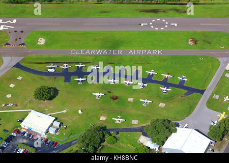 USA, Florida. Clearwater. Airport. - Stock Photo