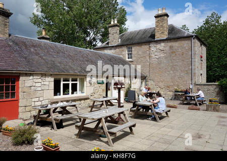 Hirsel Cottage Tearooms, Coldstream - Stock Photo