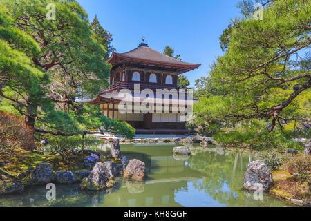 Japan, Kyoto City,Ginkaku-Ji Pavilion *** Local Caption *** architecture, Garden, GinkakuJi, japan, Kyoto City, - Stock Photo