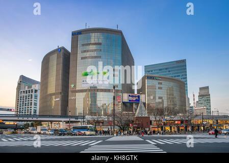 Japan, Tokyo City, Ginza area, Yurakucho *** Local Caption *** architecture, colorful, Ginza, Ginza Area, japan, - Stock Photo