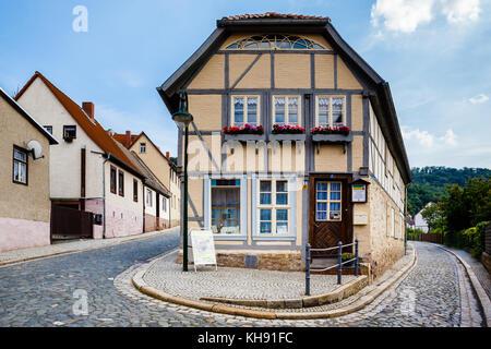 Alte Schule Gernrode - Stock Photo