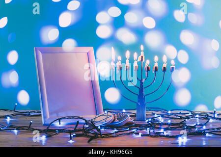 hanukkah holiday - Stock Photo
