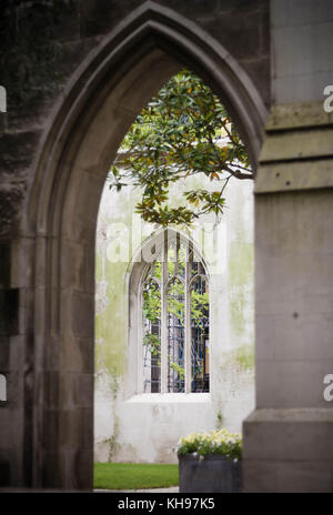Saint Dunstan in the East, City of London - Stock Photo