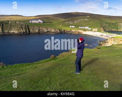 Fair Isle Bird Observatory and South Haven, Fair Isle, Shetland ...