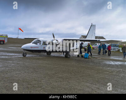 Fair Isle airport and Islander aircraft Stock Photo, Royalty Free ...