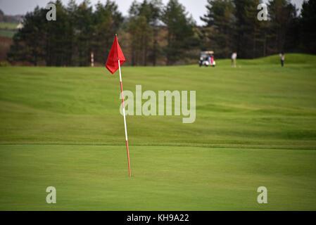 Golf of Etretat, Normandy, Seine-Maritime, France, Europe - Stock Photo