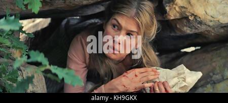 HOSTILES 2017 Entertainment Studios film with Rosamund Pike - Stock Photo