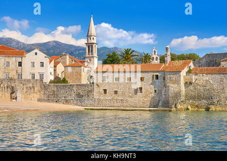 Budva Old Town, Montenegro - Stock Photo