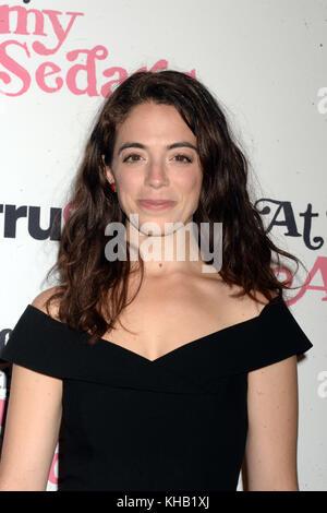 NEW YORK, NY - OCTOBER 19: Tayla Mar  attends 'At Home With Amy Sedaris' New York Screening at The Bowery Hotel - Stock Photo
