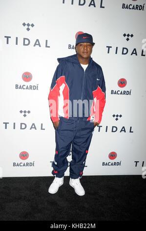 NEW YORK, NY - OCTOBER 17: Jadakiss at TIDAL X: Brooklyn at Barclays Center of Brooklyn on October 17, 2017 in New York City.    People:  Jadakiss  Transmission Ref:  MNC1