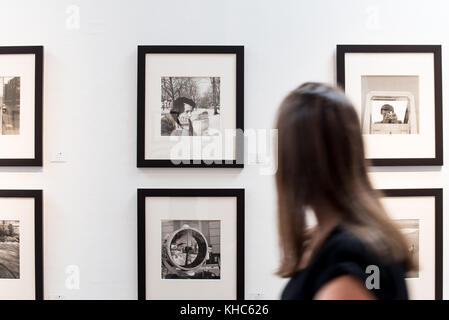 LOS ANGELES, USA - 27 February, 2016 Vivian Maier Exhibition at Merry Karnowsky Gallery. Merry Karnowsky Gallery, - Stock Photo