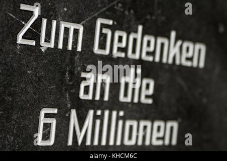 6 Millionen Holocaust Deutsches Reich - Stock Photo