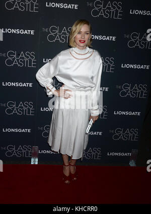 NEW YORK, NY - AUGUST 09:  Naomi Watts attends 'The Glass Castle' New York screening at SVA Theatre on August 9, - Stock Photo