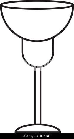 Wine glass cup - Stock Photo