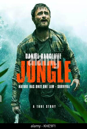 JUNGLE (2017)  DANIEL RADCLIFFE  GREG MCLEAN (DIR)  SCREEN AUSTRALIA/MOVIESTORE COLLECTION LTD - Stock Photo