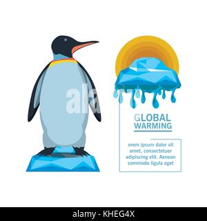 global warming design  - Stock Photo