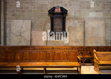 Monument of Agrippa d'Aubigné - St. Pierre Cathedral - Geneva - Stock Photo