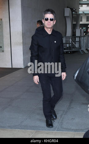 London, UK. 17th Nov, 2017. Noel Gallagher Singer seen at the BBC Studios in London Credit: RM Press/Alamy Live - Stock Photo