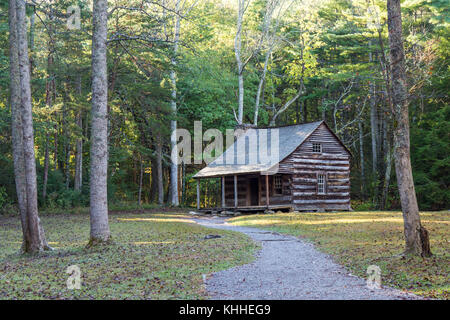 Carter Shields Cabin - Stock Photo