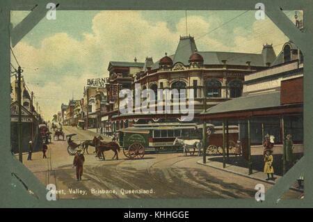 2 256127 Brunswick Street, Fortitude Valley, Brisbane, ca. 1905 - Stock Photo