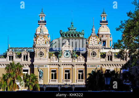 France. Principality of Monaco (98). Monaco. The Casino of Monte-Carlo - Stock Photo