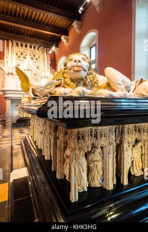 Palace of the Dukes Museum Dijon Cote-d'Or  Bourgogne-Franche-Comté France - Stock Photo