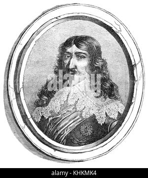 Louis XIII, 1601 – 1643, King of France - Stock Photo