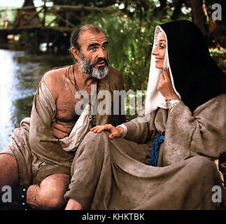 ROBIN AND MARIAN 1976 Columbia Pictures film with Audrey Hepburn and Sean Connery - Stock Photo