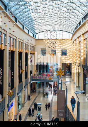 The Grand Arcade shopping centre, in Cambridge, England, UK. - Stock Photo