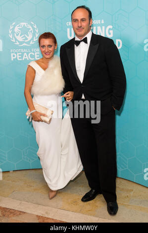 London, London, UK. 17th Nov, 2017. Ramon Vega attends the Football For Peace Inaugural Ball held at Guildhall. - Stock Photo