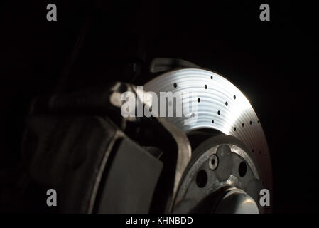 racing car parts - Stock Photo