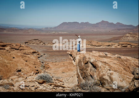 Damaraland, Namibie. Mars 2013. - Stock Photo