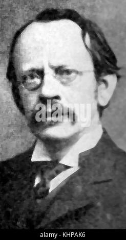 A portrait of Sir J J Thomson, English physicist and Nobel laureate in physics (1906 Nobel Prize in Physics) and - Stock Photo