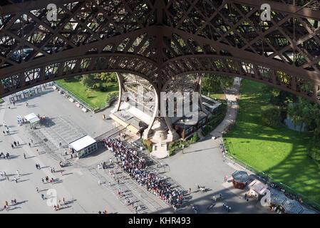 Miscellaneous images of Paris. Landmarks, tourist sights, buildings - Stock Photo