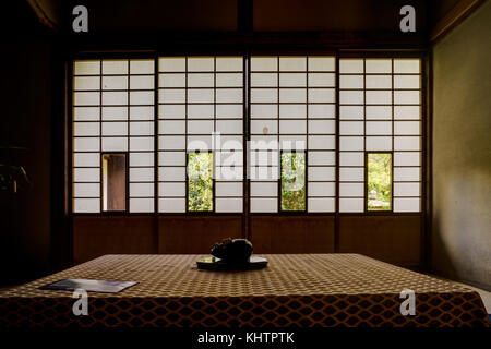 Japanese Temple Unryu in kyoto  - Stock Photo
