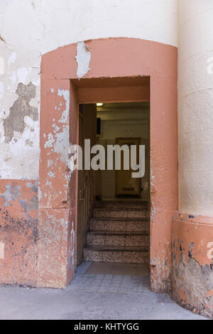 View of the empty prison of La Modelo in Barcelona, Catalonia, Spain - Stock Photo