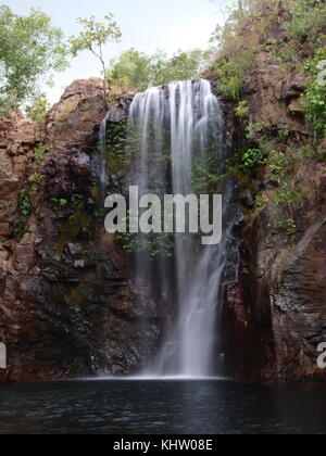 Swimming hole in Litchfield National Park, Northern Territory, Australia - Stock Photo