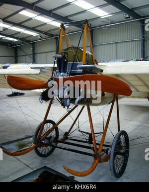 Deperdussin 1910 monoplane replica - Stock Photo