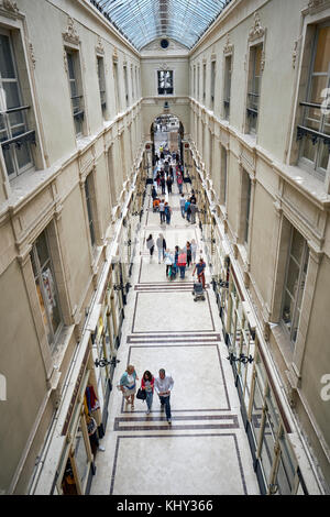 The Passage Pommeraye shopping mall in Nantes, Loire-Atlantique, Pays de la Loire, France. - Stock Photo