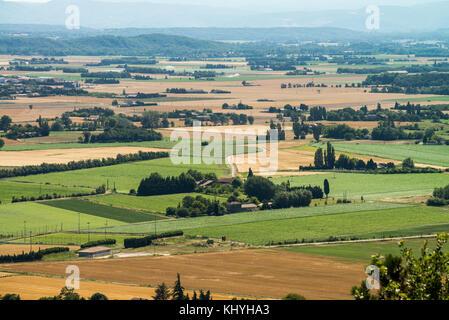 Landscape near of the village Gordes, Provence, Luberon, France, Europe. - Stock Photo
