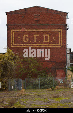 Old abandoned building of Deutz AG - Stock Photo
