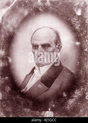 Daniel Webster, 1782-1852; Federalist Congressman from New Hampshire, 1813-1817; Whig Congressman from Massachusetts, - Stock Photo