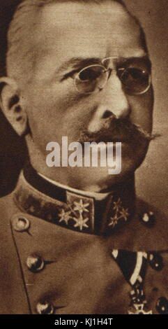 Austro-Hungarian General Count Viktor Dankl von Krasnik. Count Viktor Dankl von Krasnik (1854 - January 8, 1941) - Stock Photo