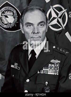 Alexander Haig Jr. (1924 – 2010) United States Army general who served as the United States Secretary of State under - Stock Photo