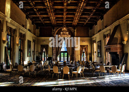 The Ballroom at the Biltmore Hotel in Coral Gables, Florida - Stock Photo