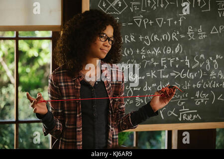 A WRINKLE IN TIME 2018 Walt Disney Pictures film with Storm Reid - Stock Photo